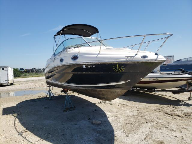 Sea Ray Vehiculos salvage en venta: 2008 Sea Ray 240 Sundan
