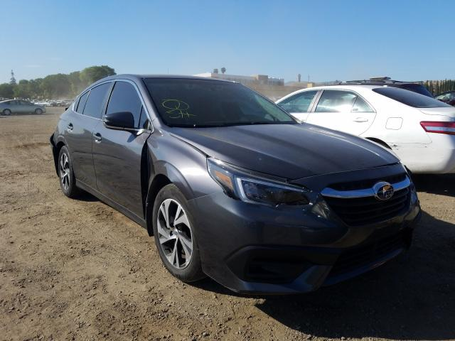 Salvage cars for sale from Copart San Martin, CA: 2020 Subaru Legacy PRE