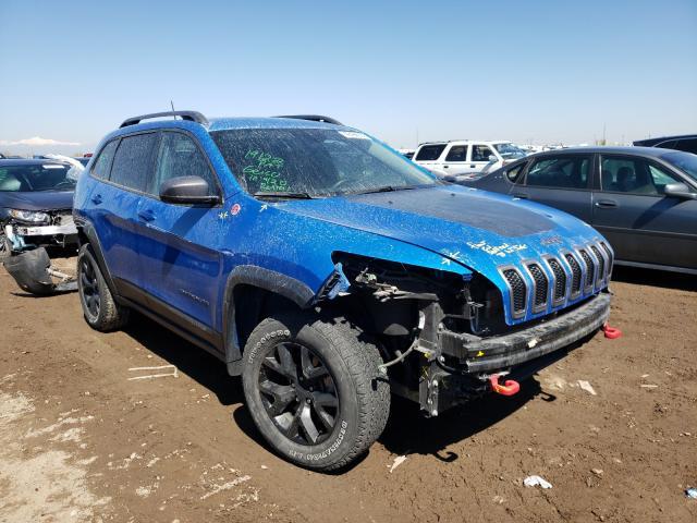 Vehiculos salvage en venta de Copart Brighton, CO: 2018 Jeep Cherokee T