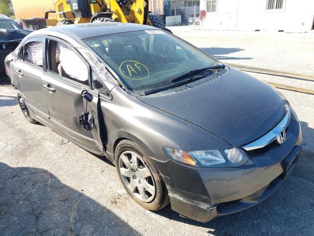 Salvage cars for sale from Copart Bridgeton, MO: 2009 Honda Civic LX