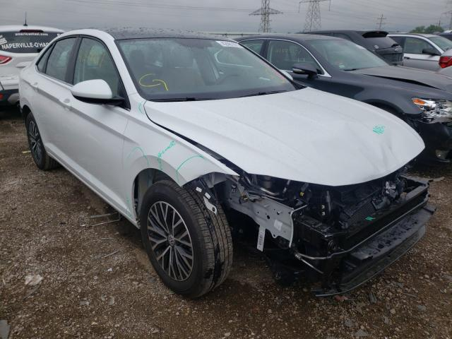 Salvage cars for sale from Copart Elgin, IL: 2020 Volkswagen Jetta S
