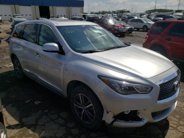 Salvage cars for sale from Copart Woodhaven, MI: 2018 Infiniti QX60