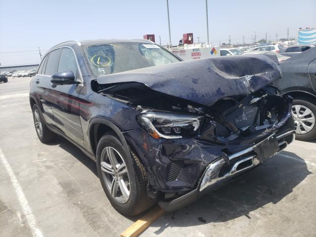 Salvage cars for sale from Copart Sun Valley, CA: 2021 Mercedes-Benz GLC 300