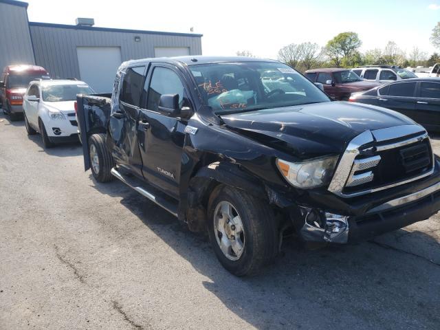 Vehiculos salvage en venta de Copart Rogersville, MO: 2010 Toyota Tundra CRE