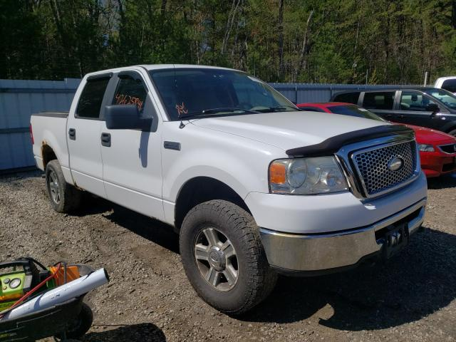 Salvage cars for sale from Copart Lyman, ME: 2007 Ford F150 Super