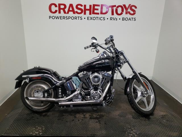 Salvage cars for sale from Copart Ham Lake, MN: 2001 Harley-Davidson Fxstdi