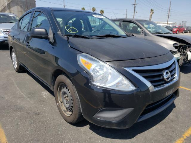 Salvage cars for sale from Copart Wilmington, CA: 2015 Nissan Versa S