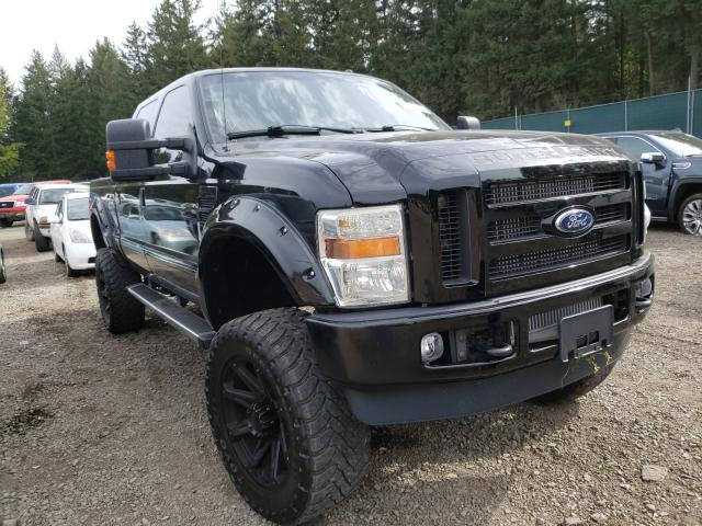 Salvage cars for sale from Copart Graham, WA: 2008 Ford F250 Super