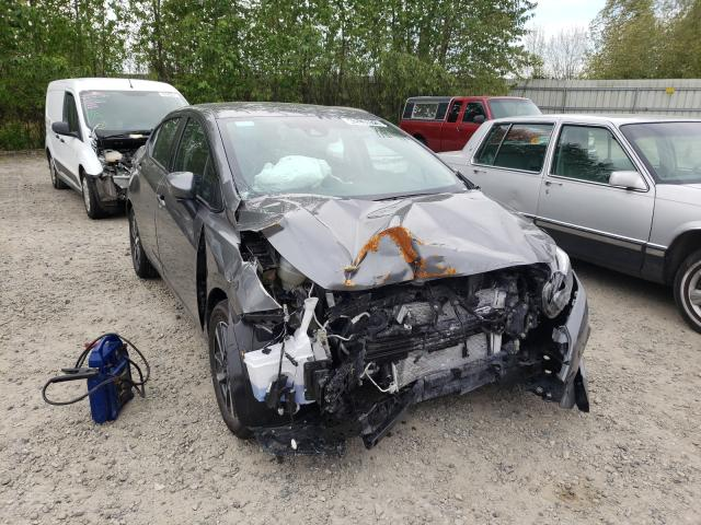 Salvage cars for sale from Copart Arlington, WA: 2021 Nissan Versa SV