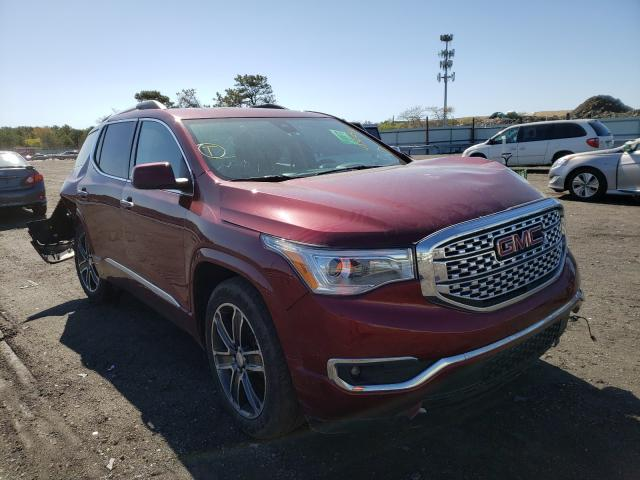 Salvage cars for sale at Brookhaven, NY auction: 2018 GMC Acadia DEN