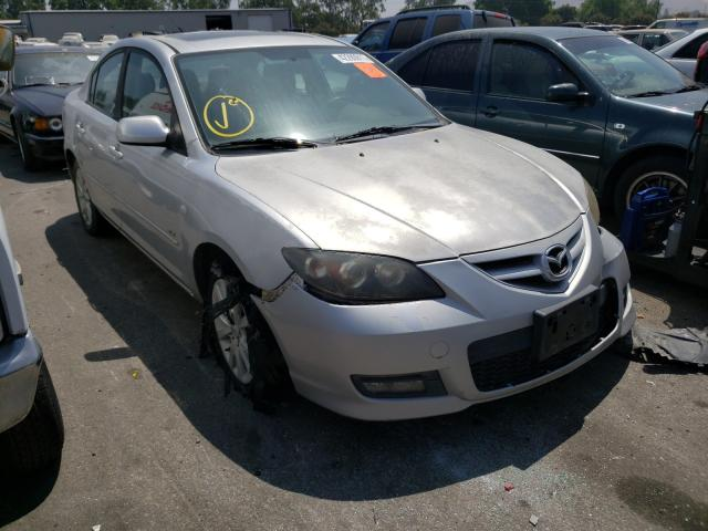 Salvage cars for sale from Copart Colton, CA: 2008 Mazda 3 S