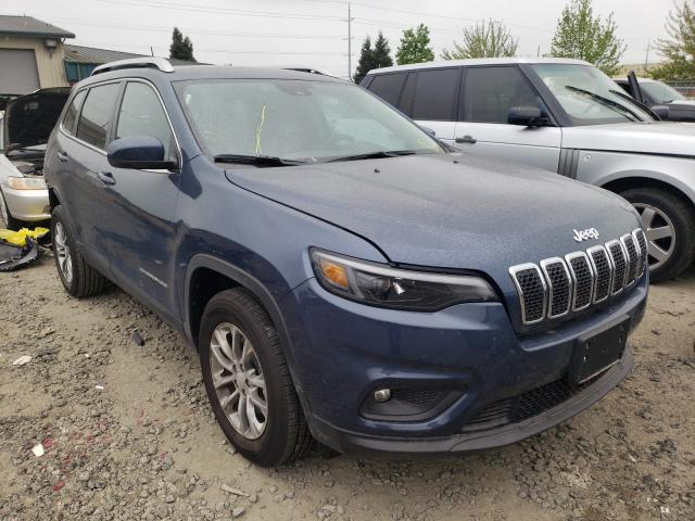 Salvage cars for sale from Copart Eugene, OR: 2021 Jeep Cherokee L