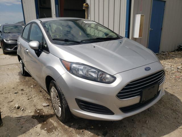 Salvage cars for sale from Copart Sikeston, MO: 2019 Ford Fiesta S