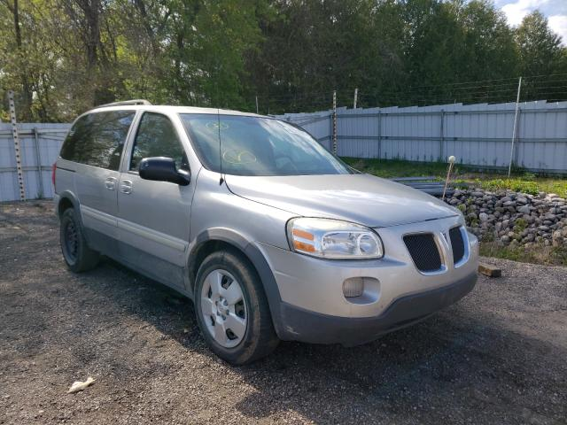 Salvage cars for sale from Copart London, ON: 2008 Pontiac Montana SV