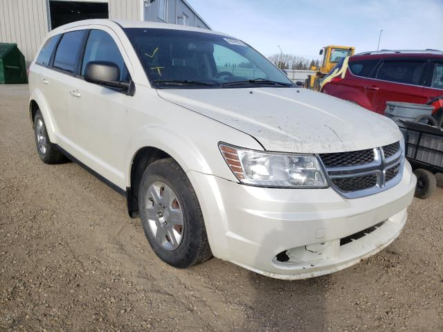 Salvage cars for sale from Copart Nisku, AB: 2012 Dodge Journey SE