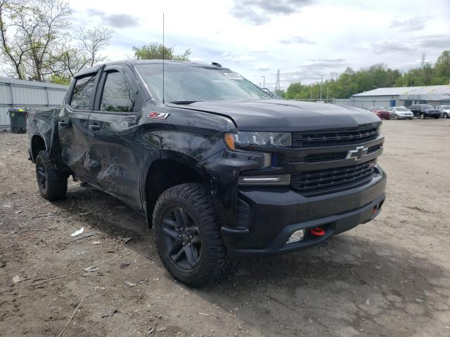 Salvage cars for sale at West Mifflin, PA auction: 2021 Chevrolet Silverado
