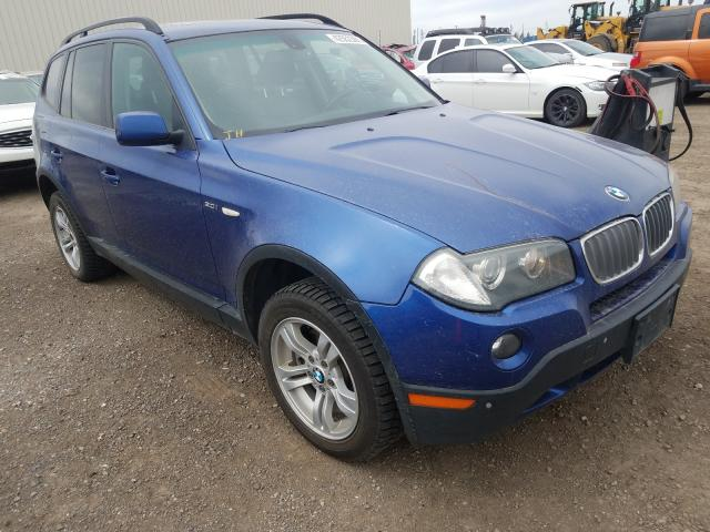 Salvage cars for sale from Copart Rocky View County, AB: 2007 BMW X3 3.0I