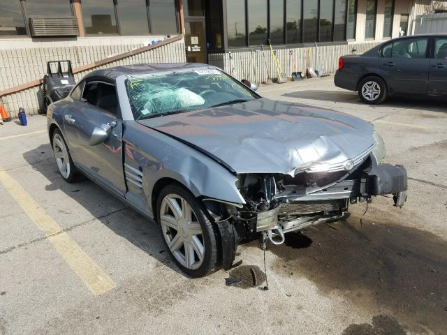 Salvage 2004 CHRYSLER CROSSFIRE - Small image. Lot 42338291