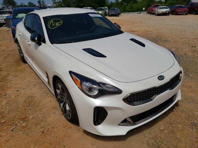 Salvage cars for sale from Copart China Grove, NC: 2021 KIA Stinger