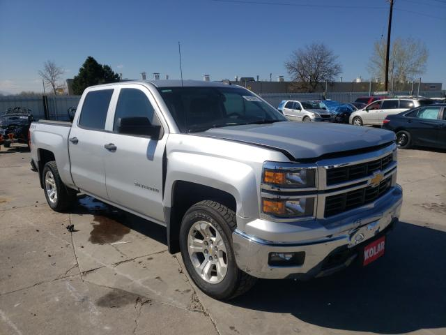Salvage cars for sale from Copart Littleton, CO: 2014 Chevrolet Silverado