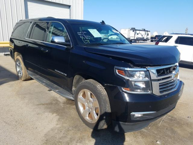 Salvage cars for sale from Copart New Orleans, LA: 2015 Chevrolet Suburban C