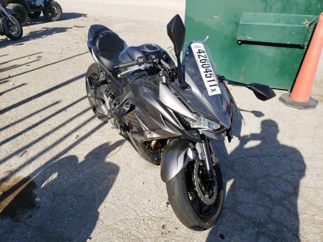Vehiculos salvage en venta de Copart Wichita, KS: 2021 Kawasaki EX650 N