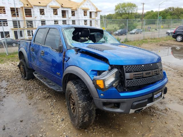 Ford F150 SVT R salvage cars for sale: 2011 Ford F150 SVT R
