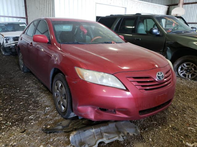 Salvage cars for sale from Copart Houston, TX: 2009 Toyota Camry Base