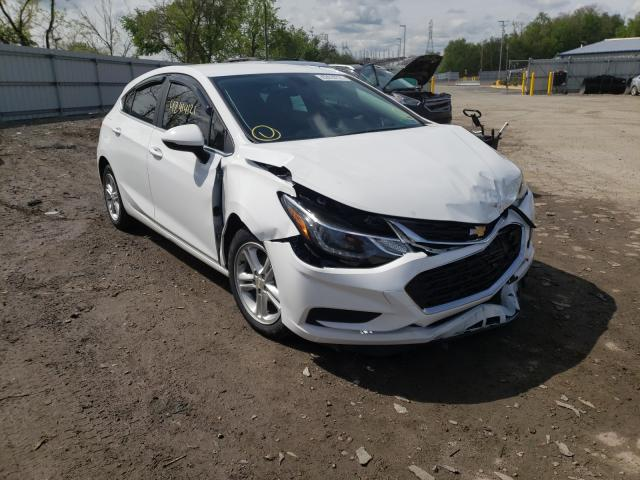 Salvage cars for sale from Copart West Mifflin, PA: 2018 Chevrolet Cruze LT