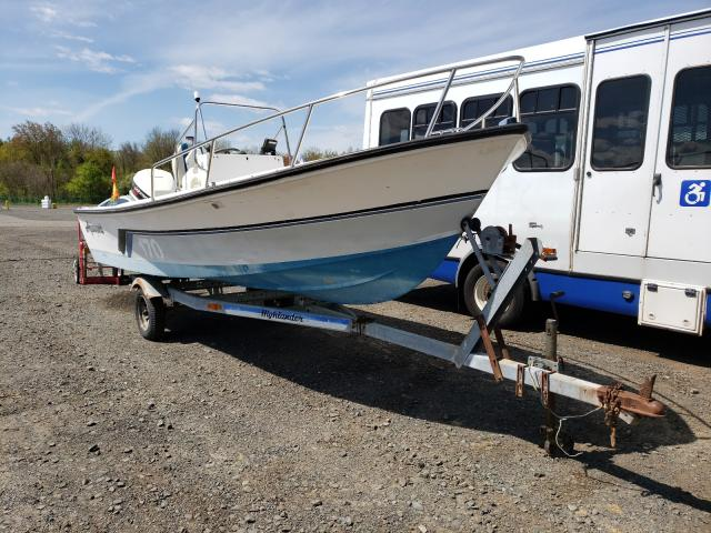 1988 Baha Boat With Trailer