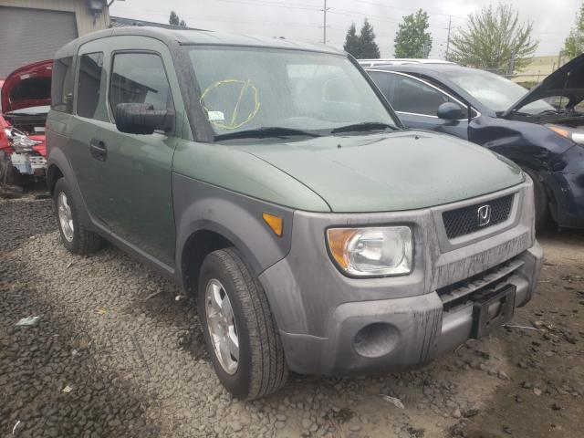 Salvage cars for sale from Copart Eugene, OR: 2003 Honda Element EX