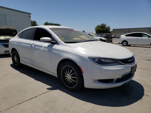 2015 Chrysler 200 Limited en venta en Sacramento, CA