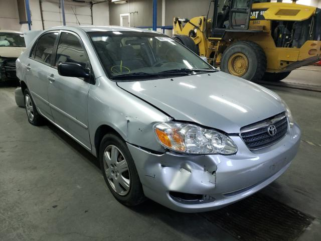 Salvage cars for sale from Copart Pasco, WA: 2007 Toyota Corolla