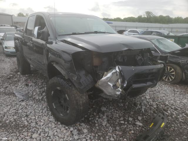 Salvage cars for sale from Copart Hueytown, AL: 2006 Nissan Titan XE