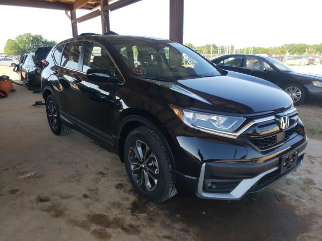Salvage cars for sale from Copart Tanner, AL: 2021 Honda CR-V EXL