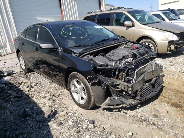 Salvage cars for sale from Copart Gainesville, GA: 2017 Chevrolet Malibu LS