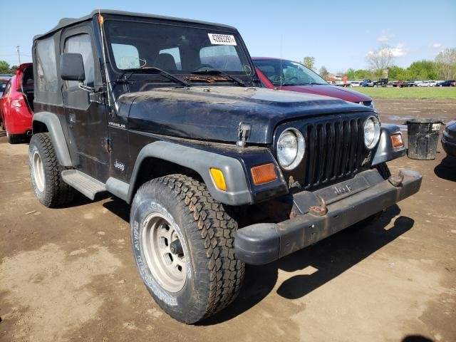 Salvage cars for sale from Copart Columbia Station, OH: 1997 Jeep Wrangler