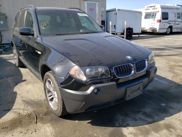 BMW salvage cars for sale: 2005 BMW X3 3.0I
