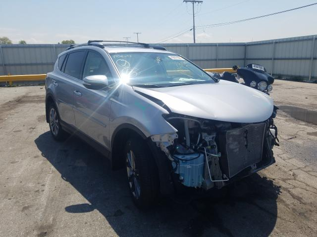 Salvage cars for sale from Copart Dyer, IN: 2018 Toyota Rav4 Limited