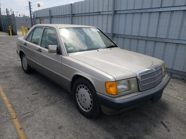 Mercedes-Benz 190 E 2.3 salvage cars for sale: 1991 Mercedes-Benz 190 E 2.3