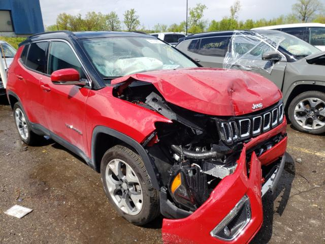 Jeep Compass salvage cars for sale: 2019 Jeep Compass