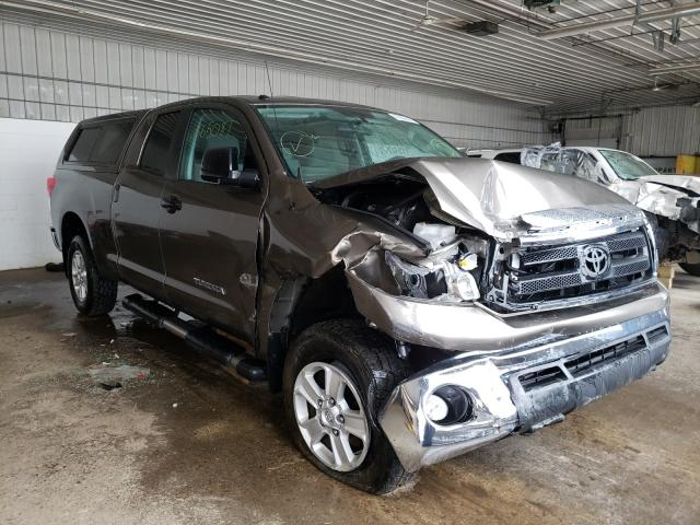 Salvage cars for sale from Copart Candia, NH: 2013 Toyota Tundra DOU