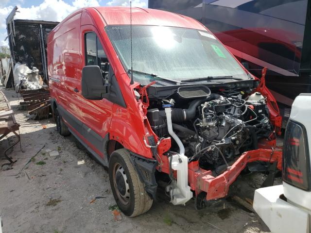 Salvage cars for sale from Copart Punta Gorda, FL: 2020 Ford Transit