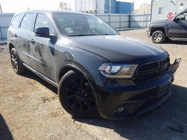 Salvage cars for sale from Copart Chicago Heights, IL: 2017 Dodge Durango R