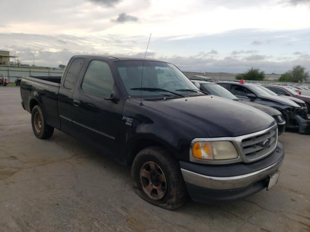 Salvage cars for sale from Copart Tulsa, OK: 2001 Ford F150