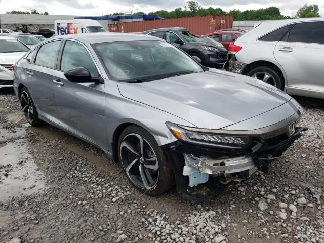 Salvage cars for sale from Copart Hueytown, AL: 2021 Honda Accord Sport