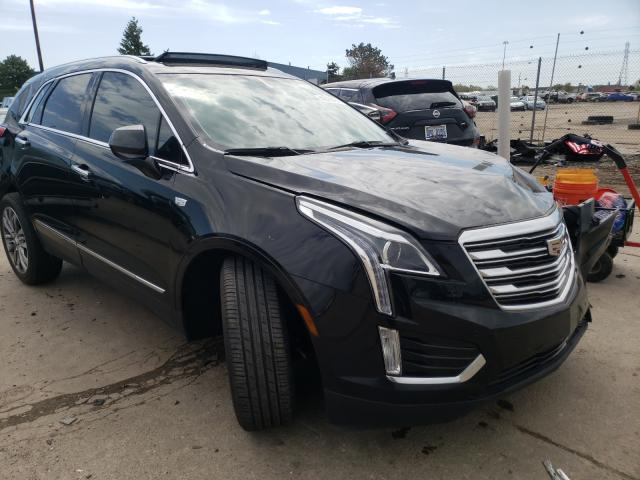 Salvage cars for sale from Copart Woodhaven, MI: 2019 Cadillac XT5 Luxury