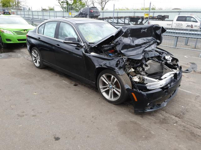 Salvage cars for sale from Copart Brookhaven, NY: 2017 BMW 330 XI