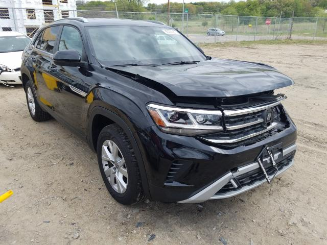 Salvage cars for sale from Copart Madison, WI: 2020 Volkswagen Atlas Cros