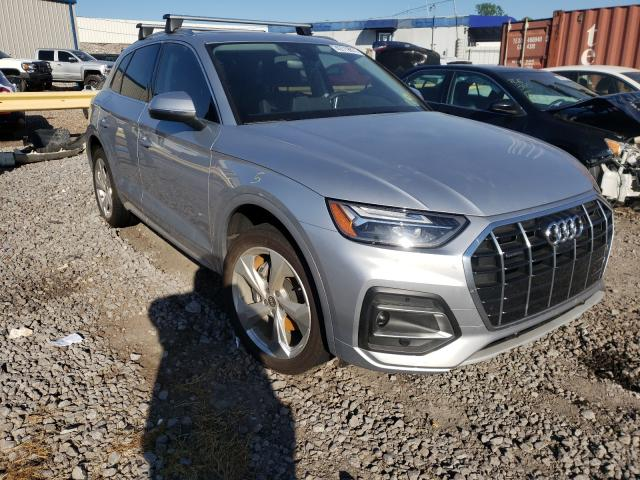 Salvage cars for sale from Copart Hueytown, AL: 2021 Audi Q5 Premium
